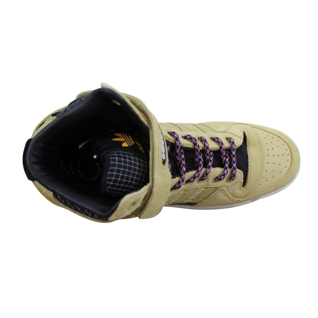 Shop Adidas Forum Mid Refined Sand Black-White F37834 Men s - Free Shipping  Today - Overstock - 23436597 d9652c069