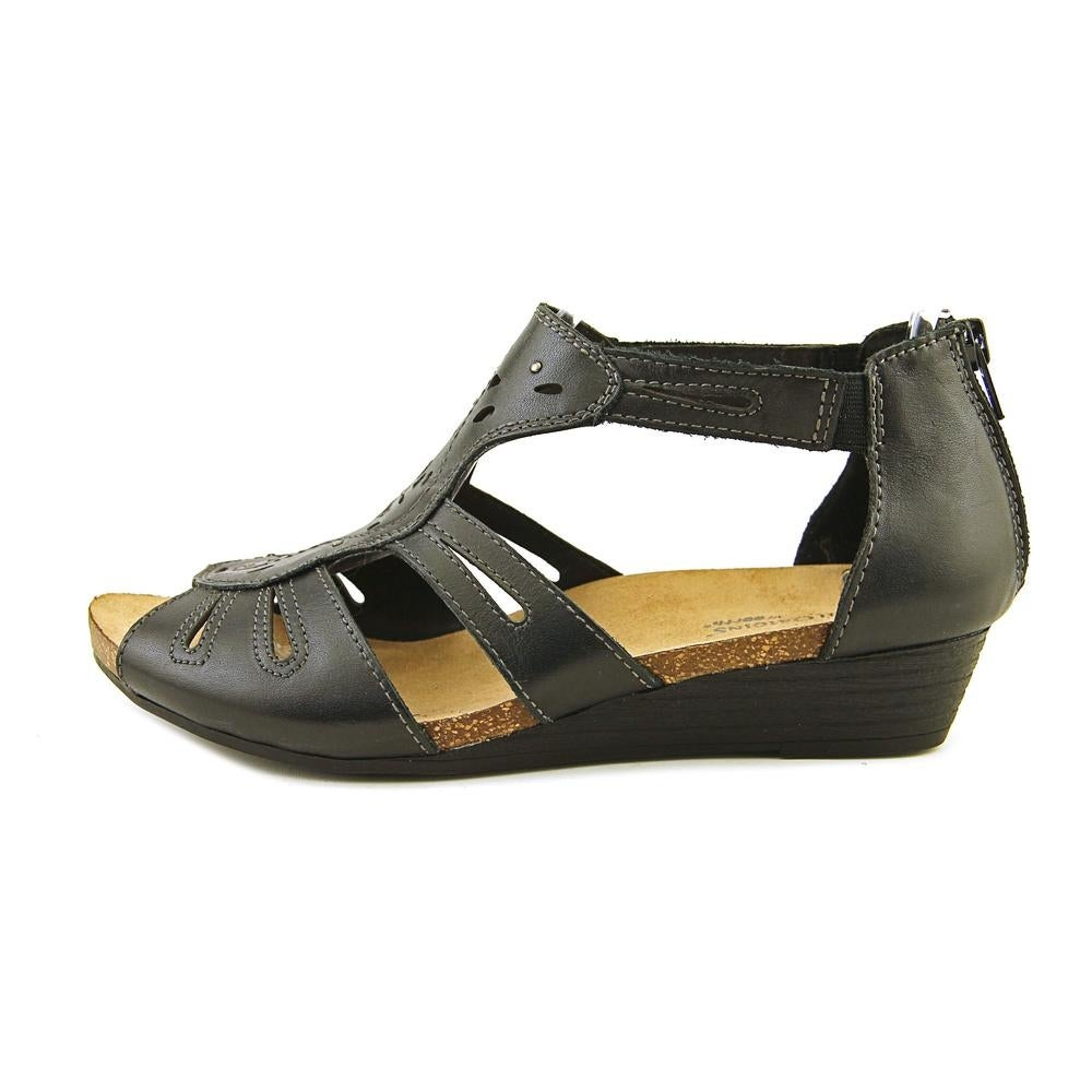 567f1962fd1 Shop Earth Origins Hayden Women Open Toe Leather Black Gladiator Sandal -  Free Shipping On Orders Over  45 - Overstock - 16080063