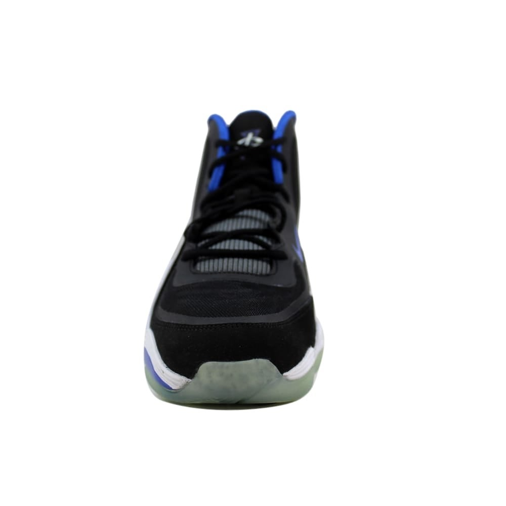 half off 1b777 b0587 Shop Nike Air Penny 5 Black Game Royal-White Orlando Magic 537640-004  Grade-School - Free Shipping Today - Overstock - 27600920
