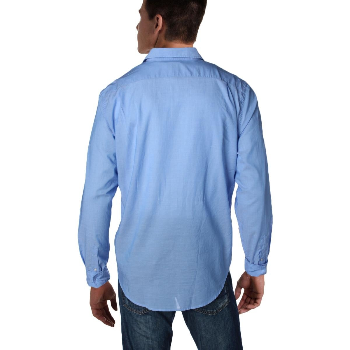 73955dbcfc71 Shop Lacoste Mens Button-Down Shirt Voile Slim Fit - XL - Free Shipping  Today - Overstock - 22311747