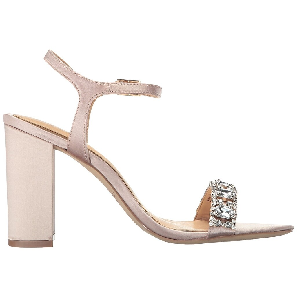 a0eb5e1bafd Shop BADGLEY MISCHKA Womens Hendricks Open Toe Formal Slingback Sandals -  On Sale - Free Shipping On Orders Over  45 - Overstock.com - 17678259