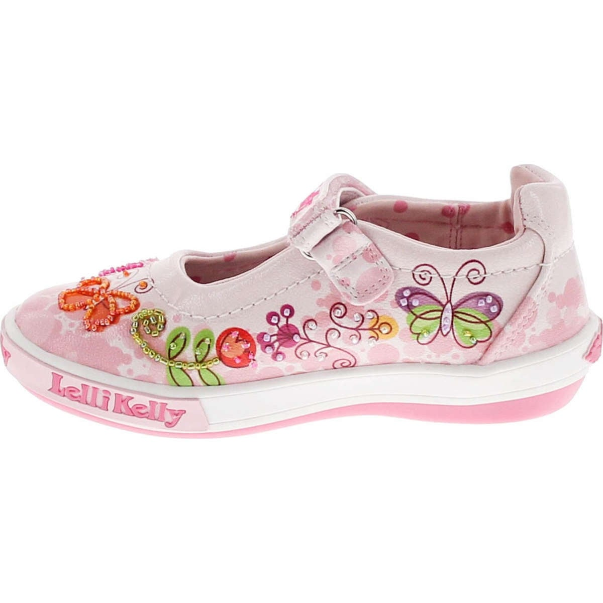 8cde4c7a Shop Lelli Kelly Kids Girls Lk1115 Fashion Mary Jane Flats Shoes - Free  Shipping Today - Overstock - 14809752