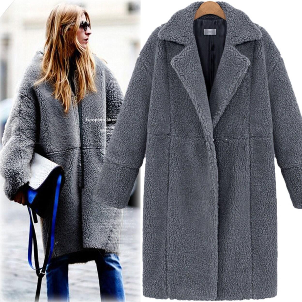 Shop Womens Woolen Winter Coat