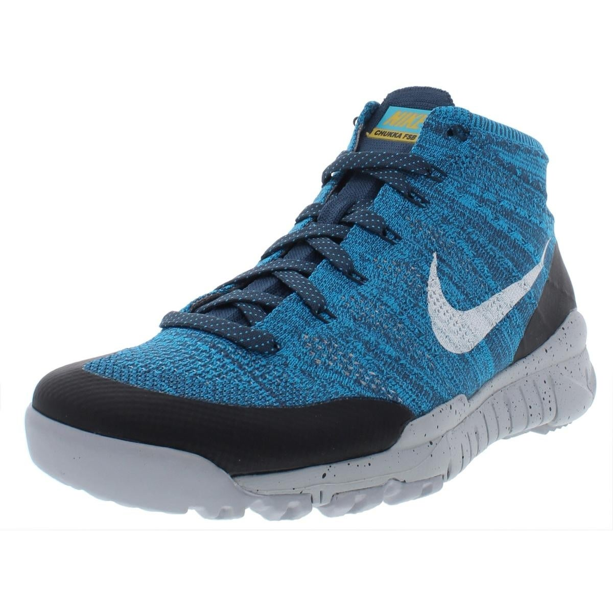 new concept 0e7f4 f07ce Shop Nike Mens Flyknit Trainer Chukka FSB Athletic Shoes Running Mid-Top -  Free Shipping Today - Overstock - 27809522