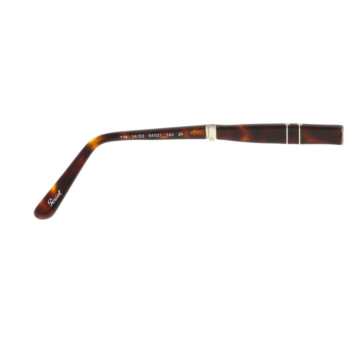 e5836e246c Shop Persol PO0714 24 S3 Havana Aviator Folding Steve McQueen Sunglasses -  54-21-140 - Free Shipping Today - Overstock - 17646158
