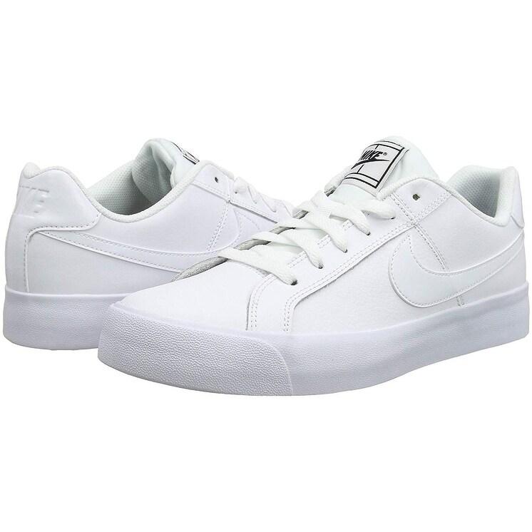 3676bbec5cdce Shop Nike Women s Court Royale Ac Sneaker White - Black