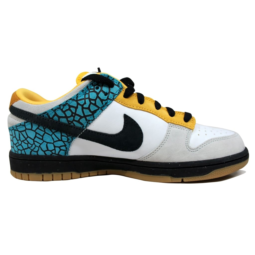 982cd057 Shop Nike Men's Dunk Low 6.0 White/Black Pine-Glass Blue-Varsity Maize  314142-108 - Free Shipping Today - Overstock - 19507948