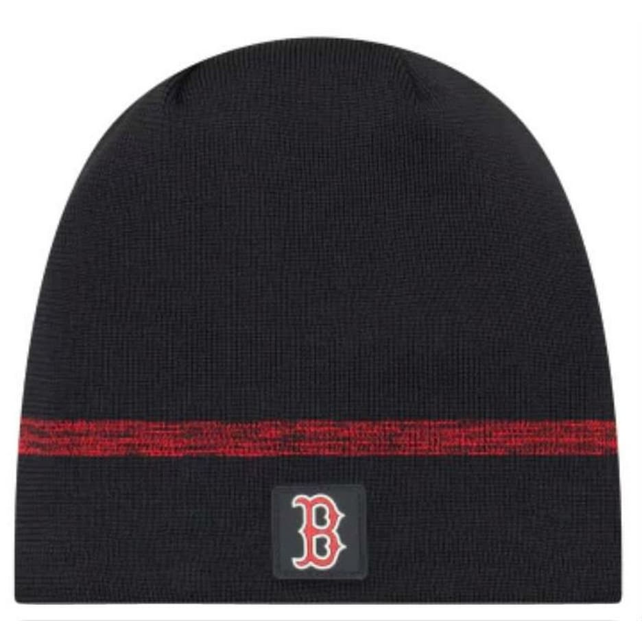 70fadb9d775ae Shop New Era MLB Boston Red Sox Clubhouse Stocking Knit Hat Beanie Skull Cap  Navy - Free Shipping On Orders Over  45 - Overstock - 27341196