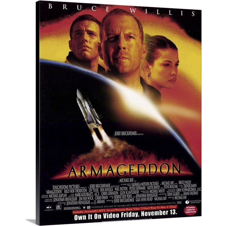 Shop Armageddon 1998 Canvas Wall Art Overstock 24136370