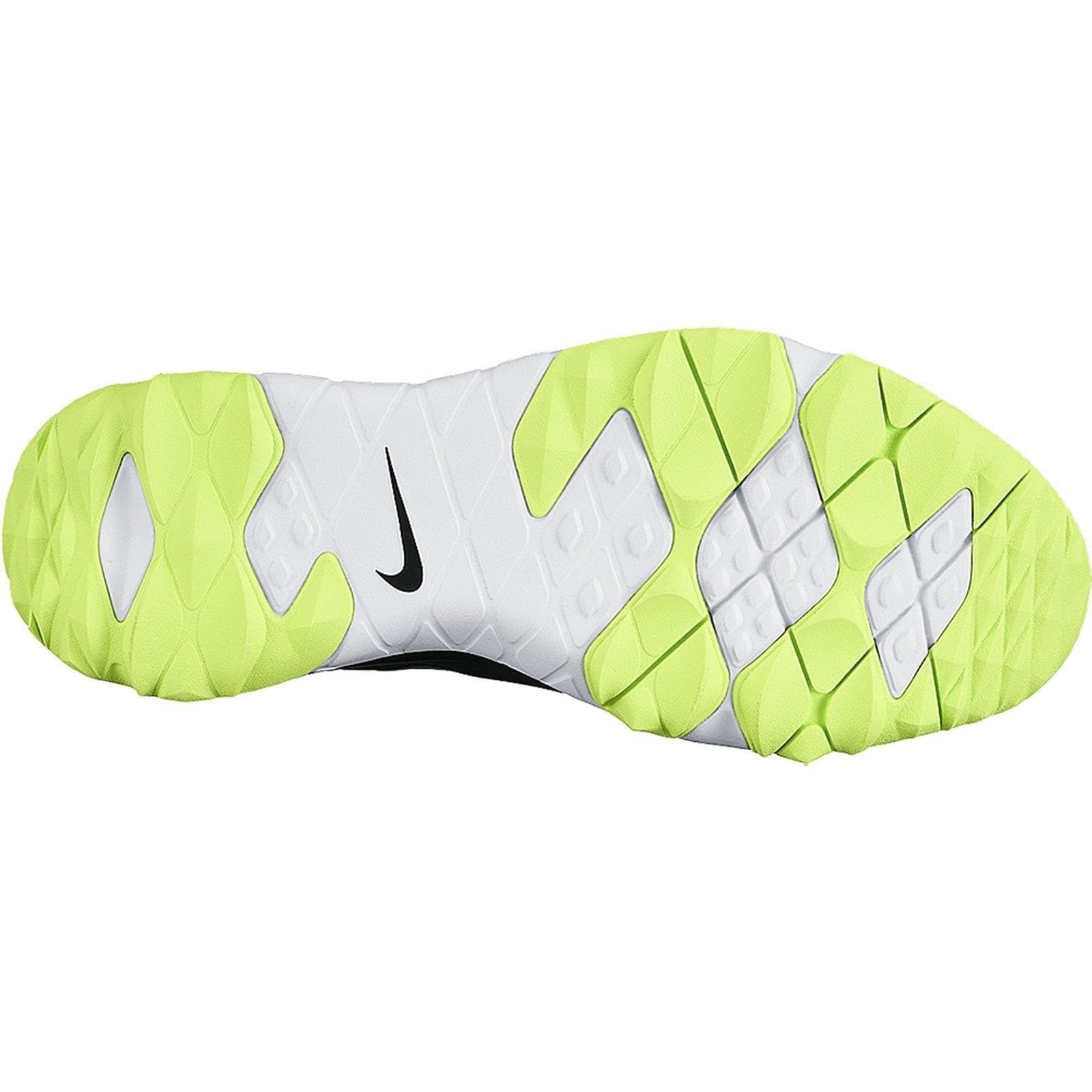 084fd889dffc8 Shop Nike Men s FI Impact Black Volt White Golf Shoes 611510-007 - Free  Shipping Today - Overstock - 19748354