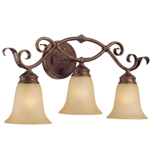 Millennium Lighting 7053 Roanoke 3 Light Bathroom Vanity Light