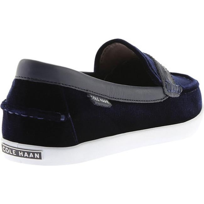 9921d0e666d Shop Cole Haan Women s Pinch Weekender Loafer Marine Blue Velvet Marine  Blue Leather Optic White - Free Shipping Today - Overstock - 18067103