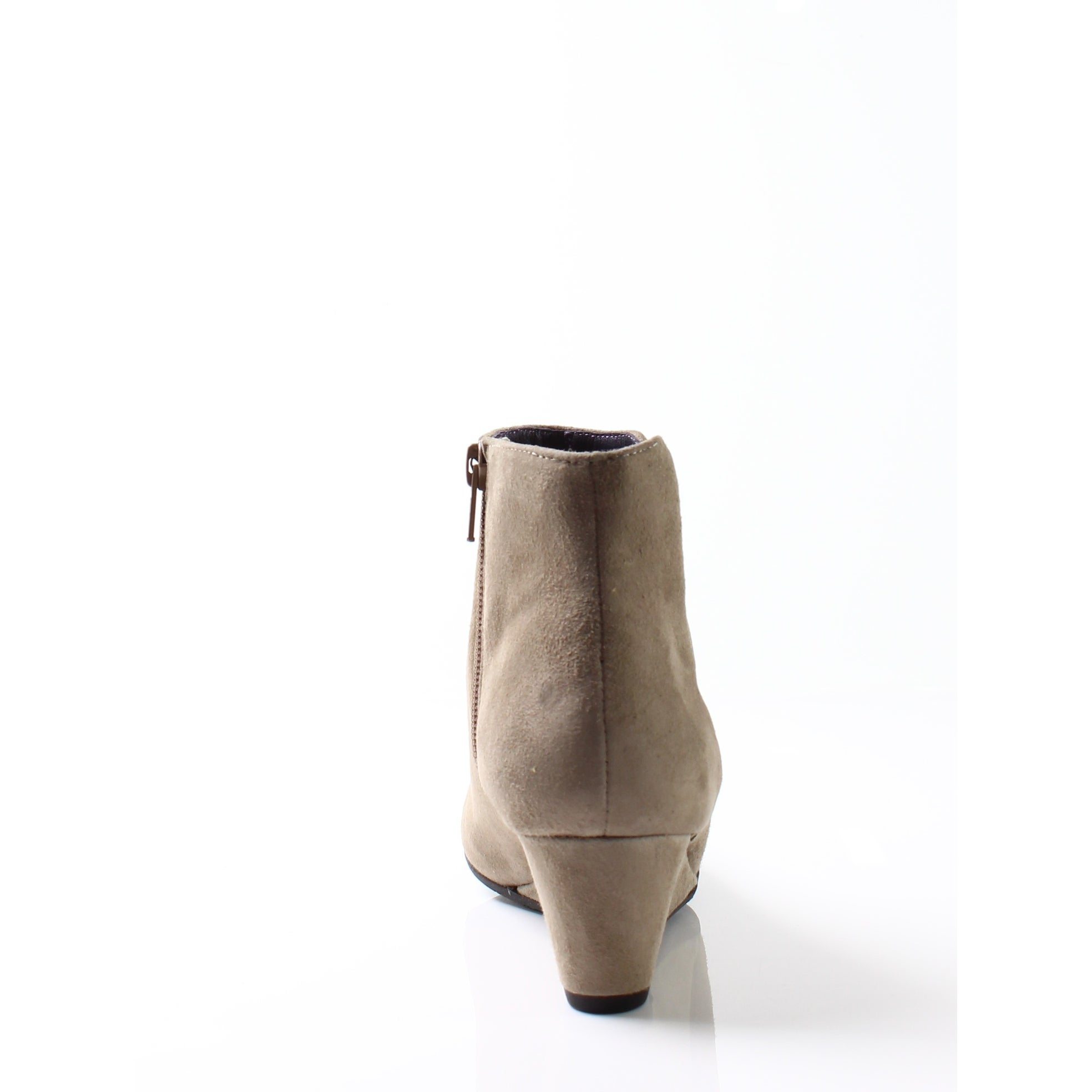 942b9f9e6002 Shop Vaneli Beige Women s Shoes Size 5.5M Laban Suede Wedge Boot - Free  Shipping On Orders Over  45 - Overstock.com - 19814573