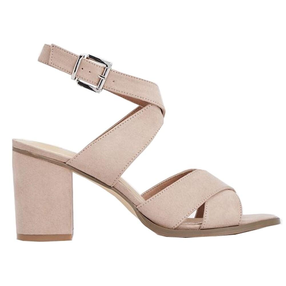 9eb5b16b57512e Shop Julienne Adult Blush Pink Suede 3