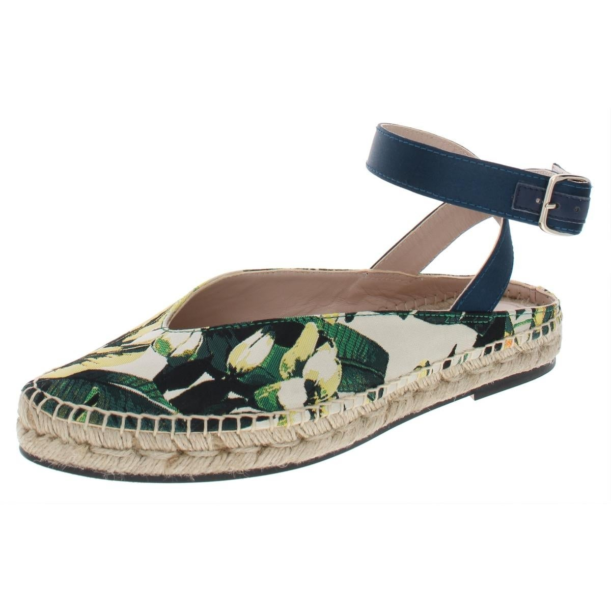 7400c2c86 Shop Stuart Weitzman Womens Toga Espadrilles Solid Ankle Wrap - Free  Shipping Today - Overstock - 26566303