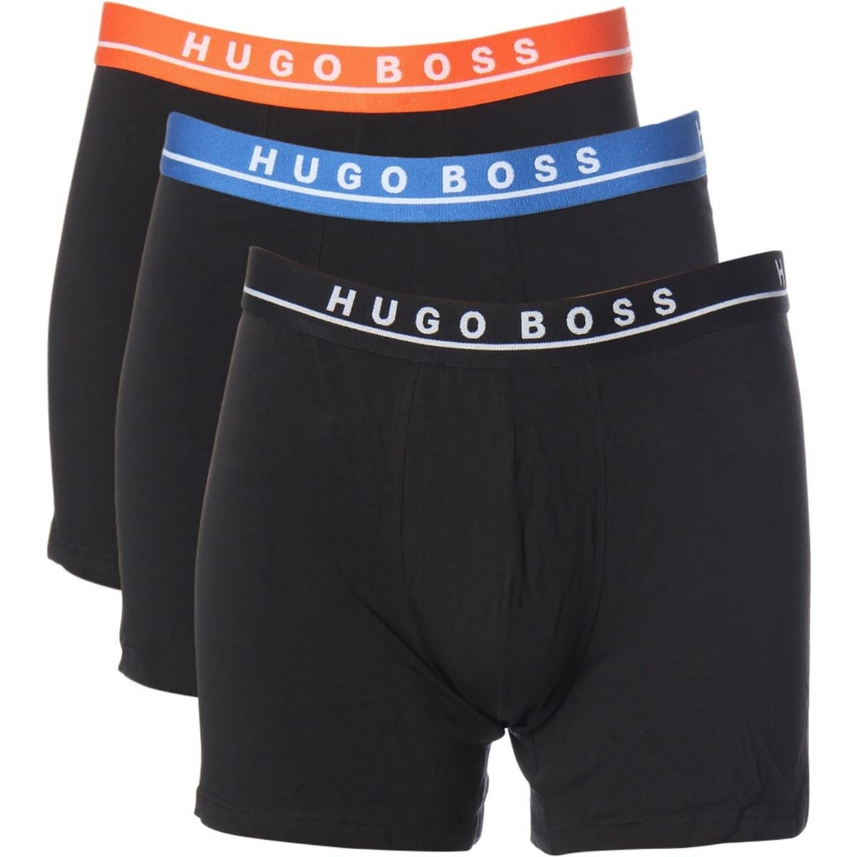 ecddd77932e Shop BOSS Hugo Boss Mens Boxer Briefs 3 Pack Signature - XL - Free Shipping  On Orders Over  45 - Overstock - 25681342