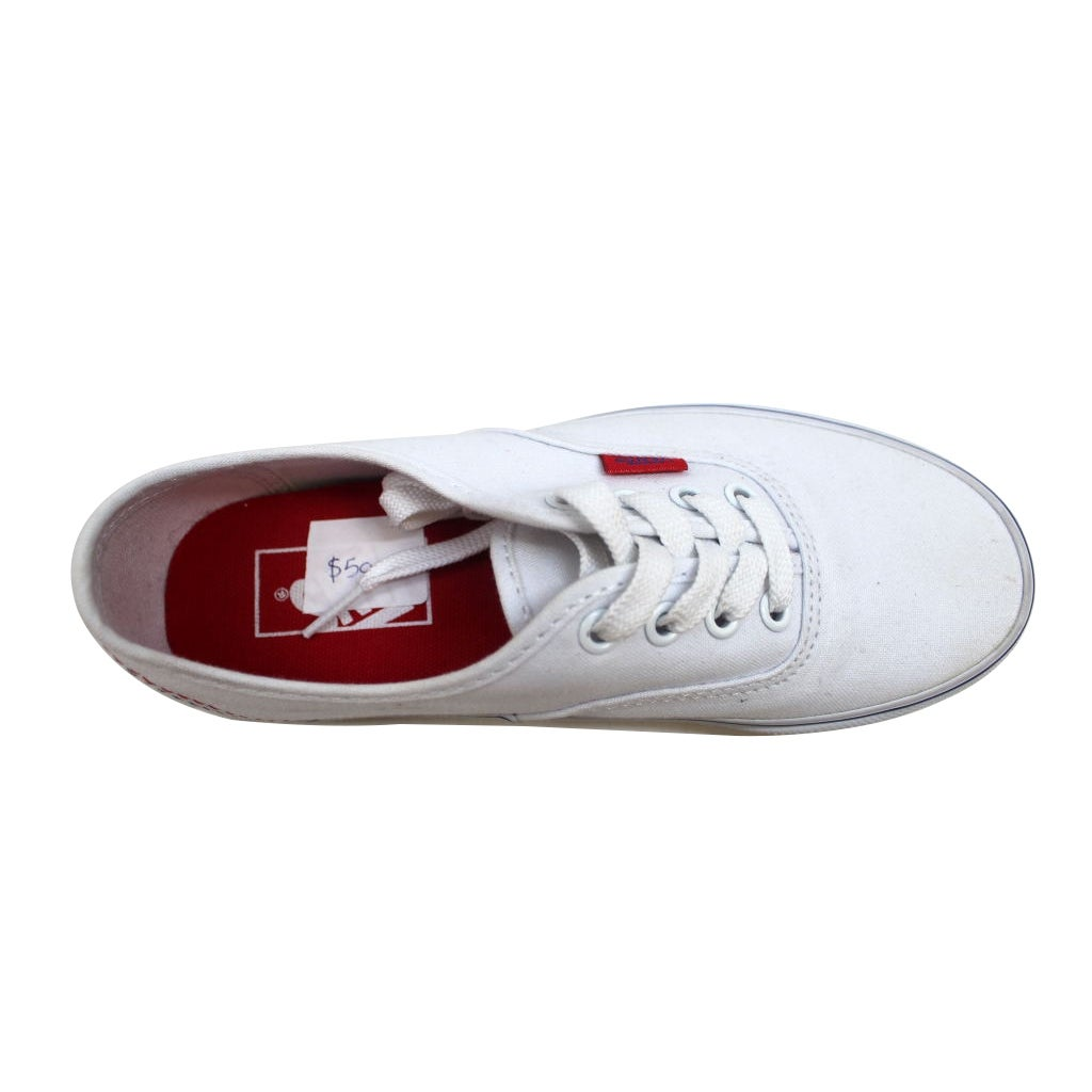 74566519d9dd Shop Vans Men s Authentic Solstice 2016 True White Red-Blue VN0A2Z5IML1 -  Free Shipping On Orders Over  45 - Overstock - 20139435