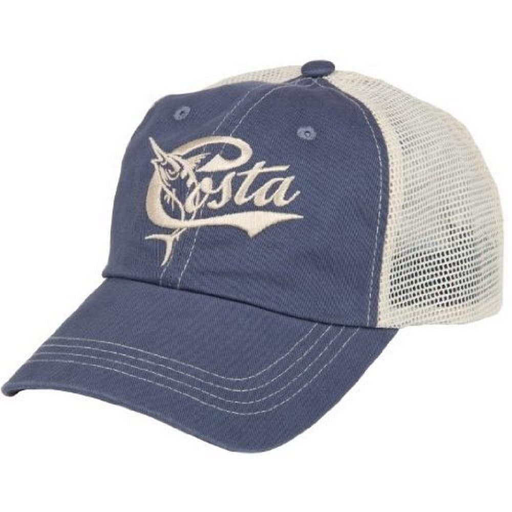 cffb15f650243 Shop Costa Mens Retro Trucker Hat - Free Shipping On Orders Over  45 -  Overstock - 16558952