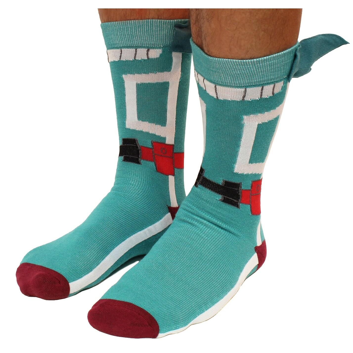 51844eb0b Shop My Hero Academia Socks Crew Costume Cosplay Izuku Deku Midoriya - On  Sale - Ships To Canada - Overstock - 23547709