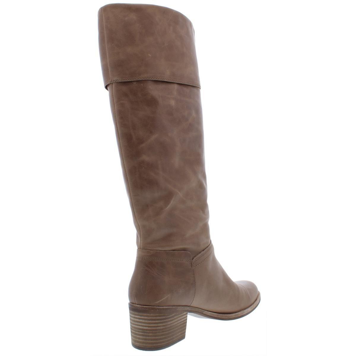 e82ca1d33f4 Shop Ugg Womens Carlin Knee-High Boots Leather Fashion - Free ...