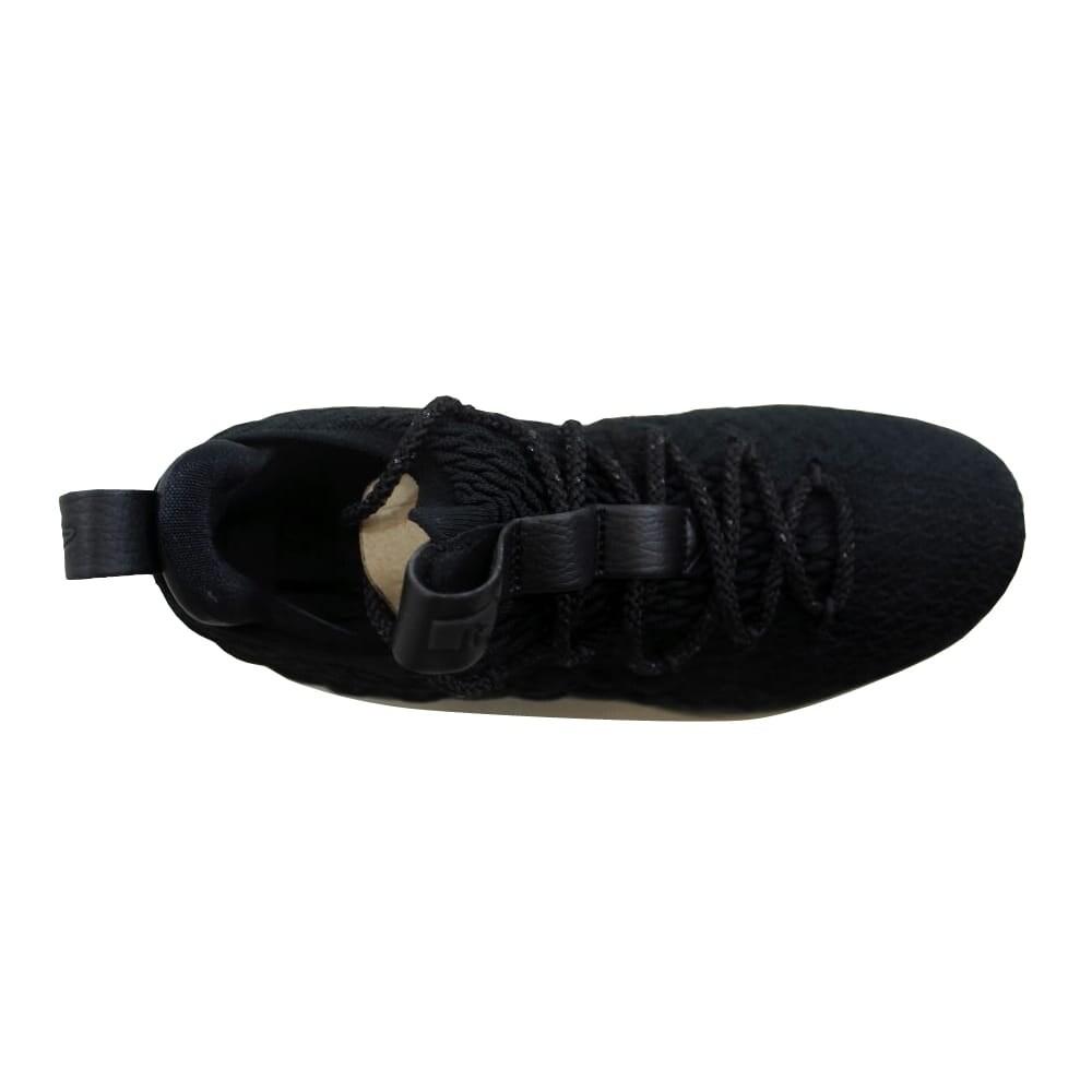 871545e944a Shop Nike Men s Lebron XV 15 Low Black Black-Thunder Grey AO1755-004 - Free  Shipping Today - Overstock.com - 27339493