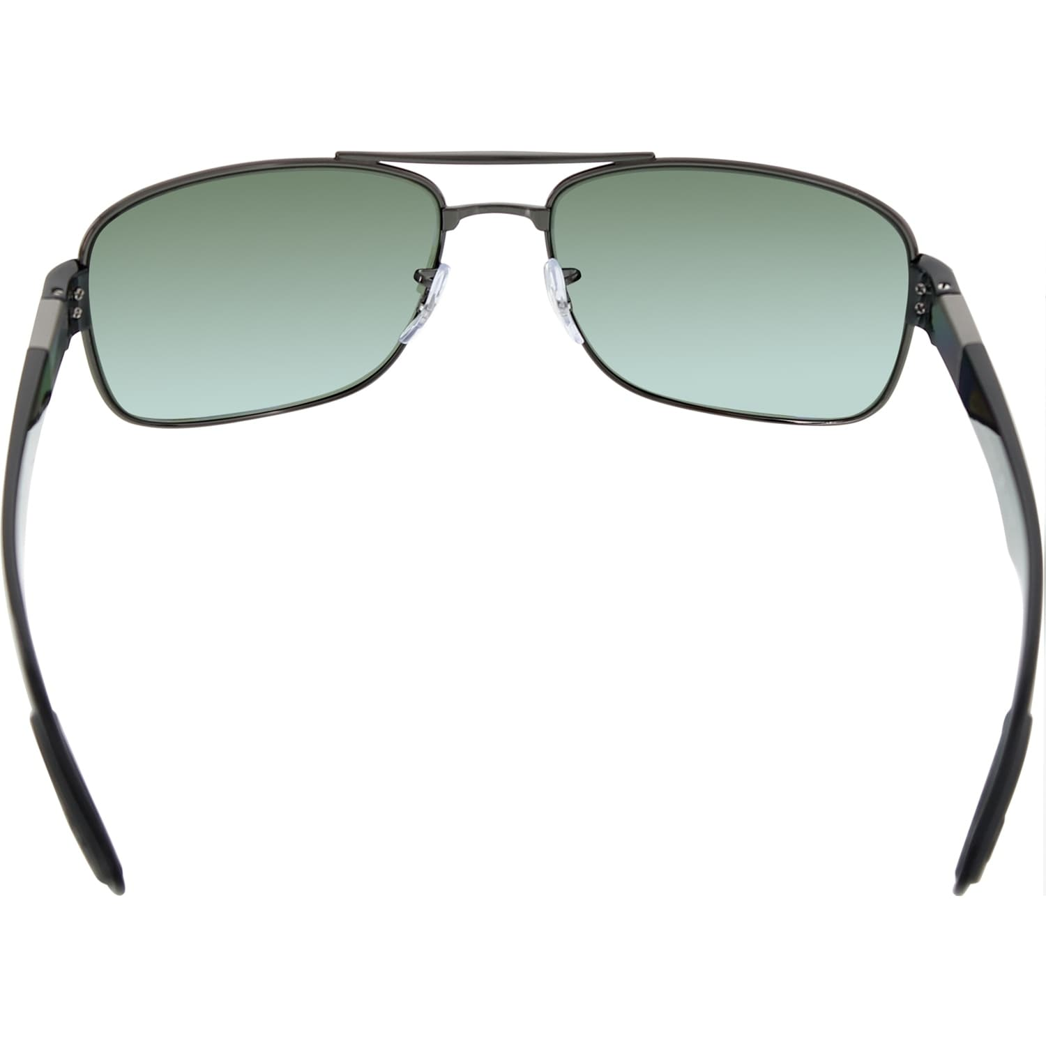 15539e517e ... canada shop ray ban mens polarized rb3522 rb3522 004 9a 61 silver  rectangle sunglasses free shipping