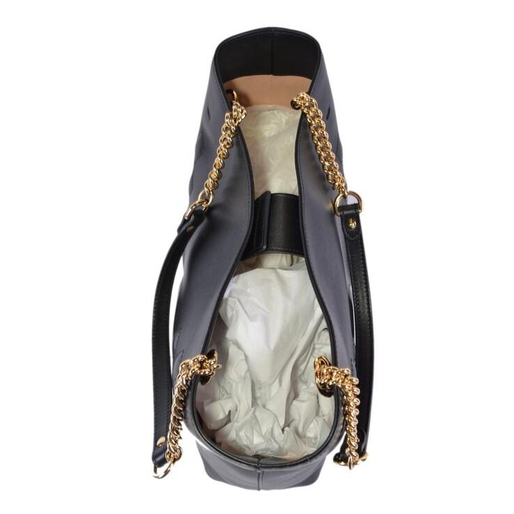 e5bc9e94260 Shop Gucci Women s 453561 Black Leather GG Original Apollo Purse Tote  Handbag - On Sale - Free Shipping Today - Overstock - 25978209