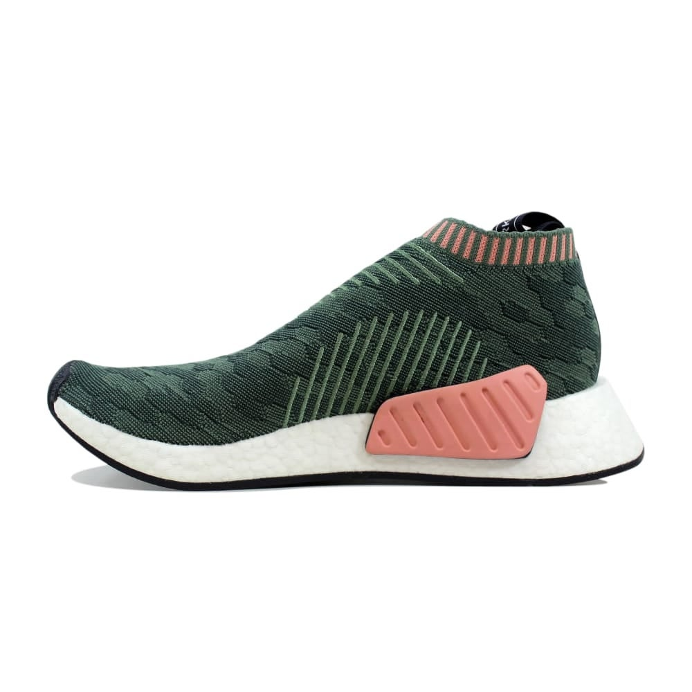 Shop Adidas Women s NMD CS2 Primeknit W Green Pink BY8781 - Free Shipping  Today - Overstock.com - 27339239 847af93c312d