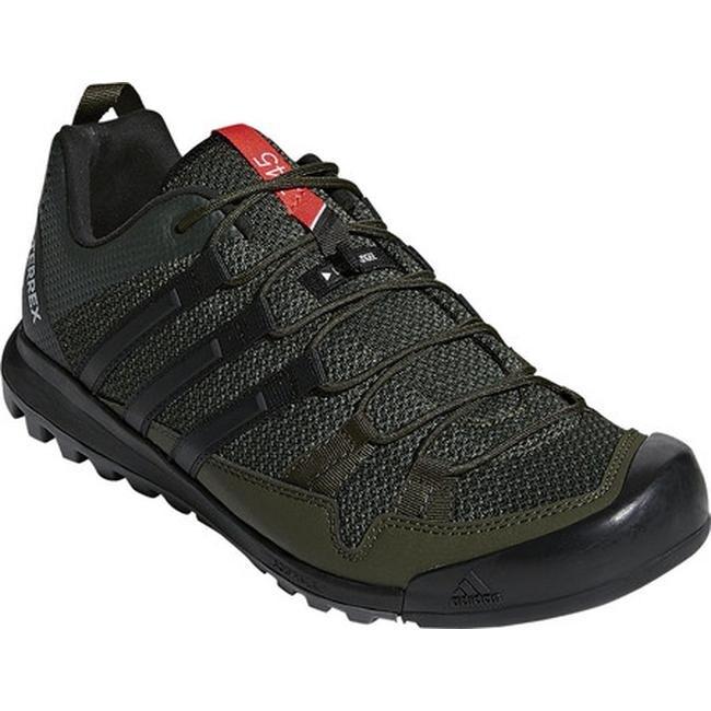 big sale 9a153 23e64 adidas Men s Terrex Solo Hiking Shoe Night Cargo Black Base Green