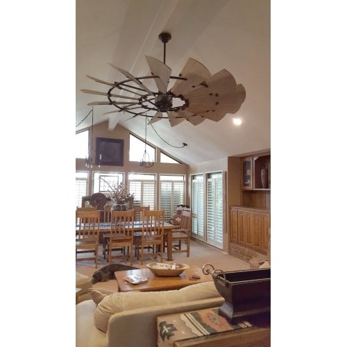 Quorum international 197215 windmill 72 15 blade indoor outdoor quorum international 197215 windmill 72 15 blade indoor outdoor dc ceiling fan with blades wall control and downrod free shipping today mozeypictures Choice Image