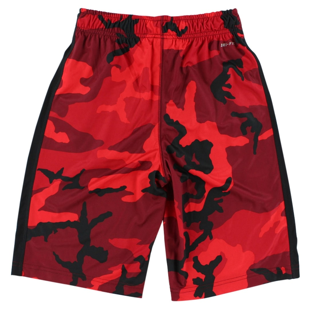 Shop Nike Boys Woodland Camo Fly Training Shorts Red - Red black - Free  Shipping On Orders Over  45 - Overstock - 22694179 4ee5adf80