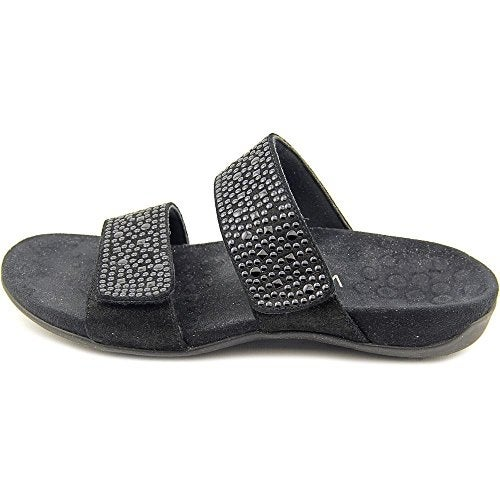 b5c47a50290a Shop Vionic Rest Samoa Women W Open Toe Suede Brown Slides Sandal - Free  Shipping Today - Overstock - 14110925