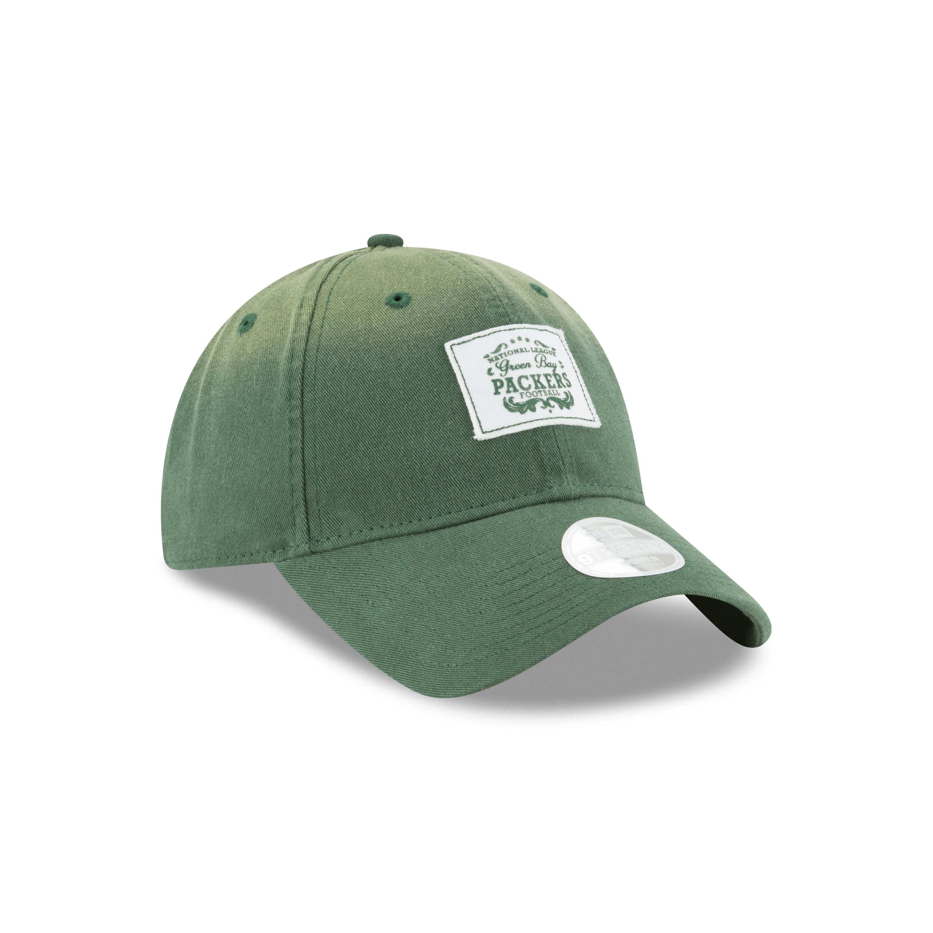 9dfb84dfe6c Shop Green Bay Packers 9TWENTY Vintage Patch Women s Adjustable Hat - Free  Shipping On Orders Over  45 - Overstock - 20529033