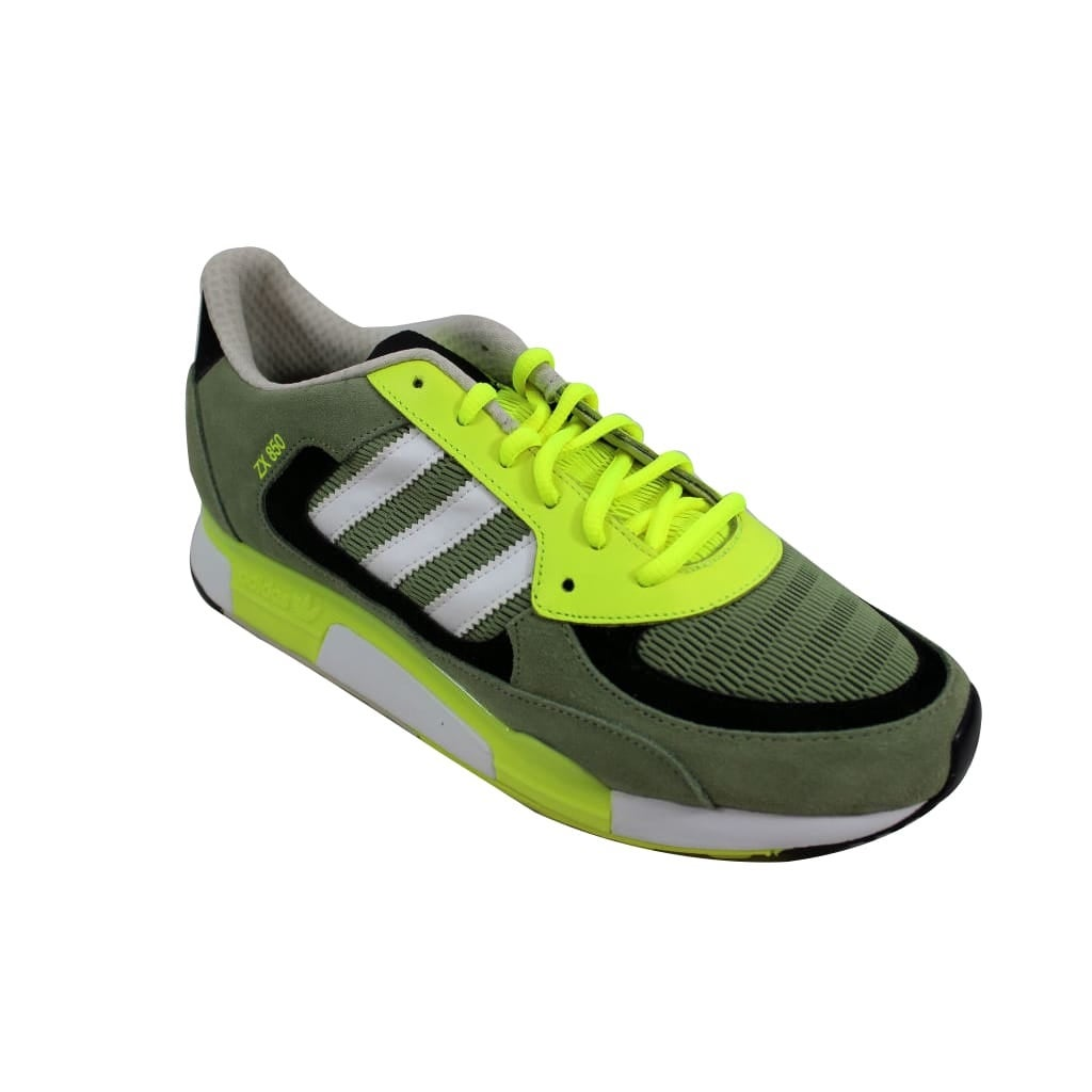 uk availability 4b430 573f8 Shop Adidas Men s ZX 850 Green White D65237 - Ships To Canada - Overstock -  24122968