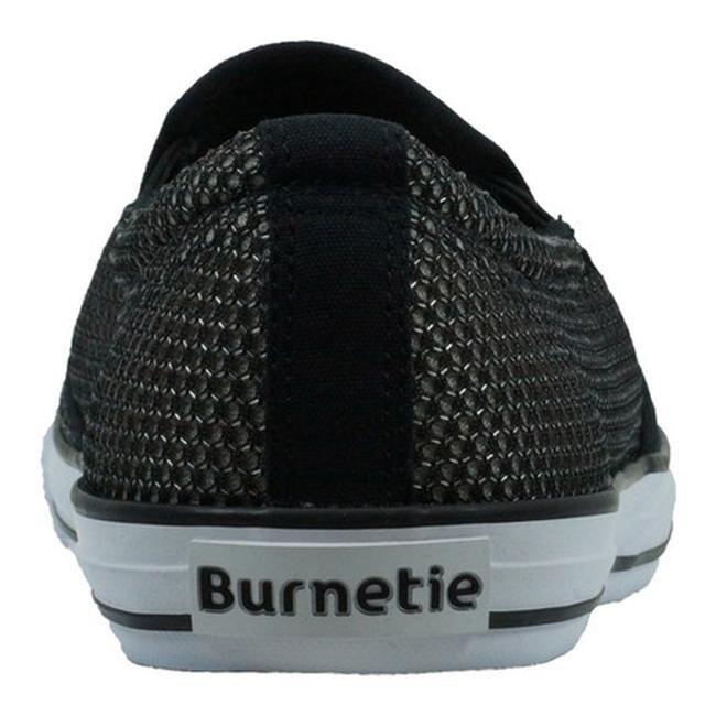 bb93451e9e016 Burnetie Men's Skid II Slip On Black/Grey Textile