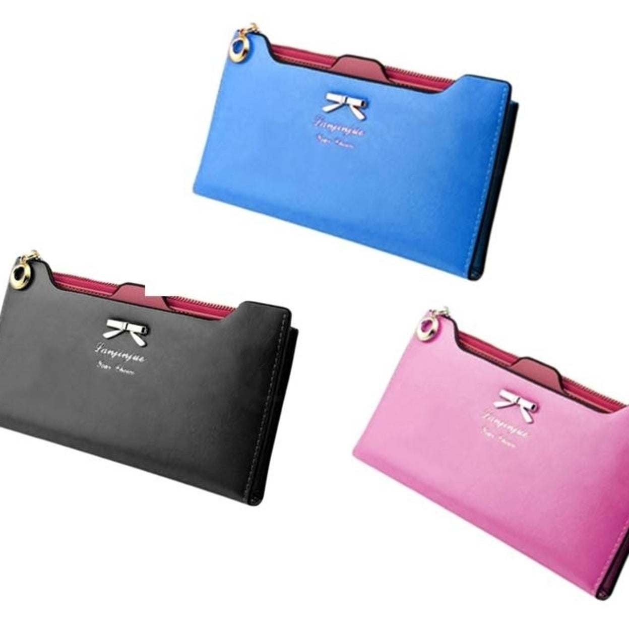 Shop High Quality Fashion Lady Women Leather Clutch Wallet Long Card Holder  Case Purse Handbag - On Sale - Free Shipping On Orders Over  45 -  Overstock.com ... 3763651137