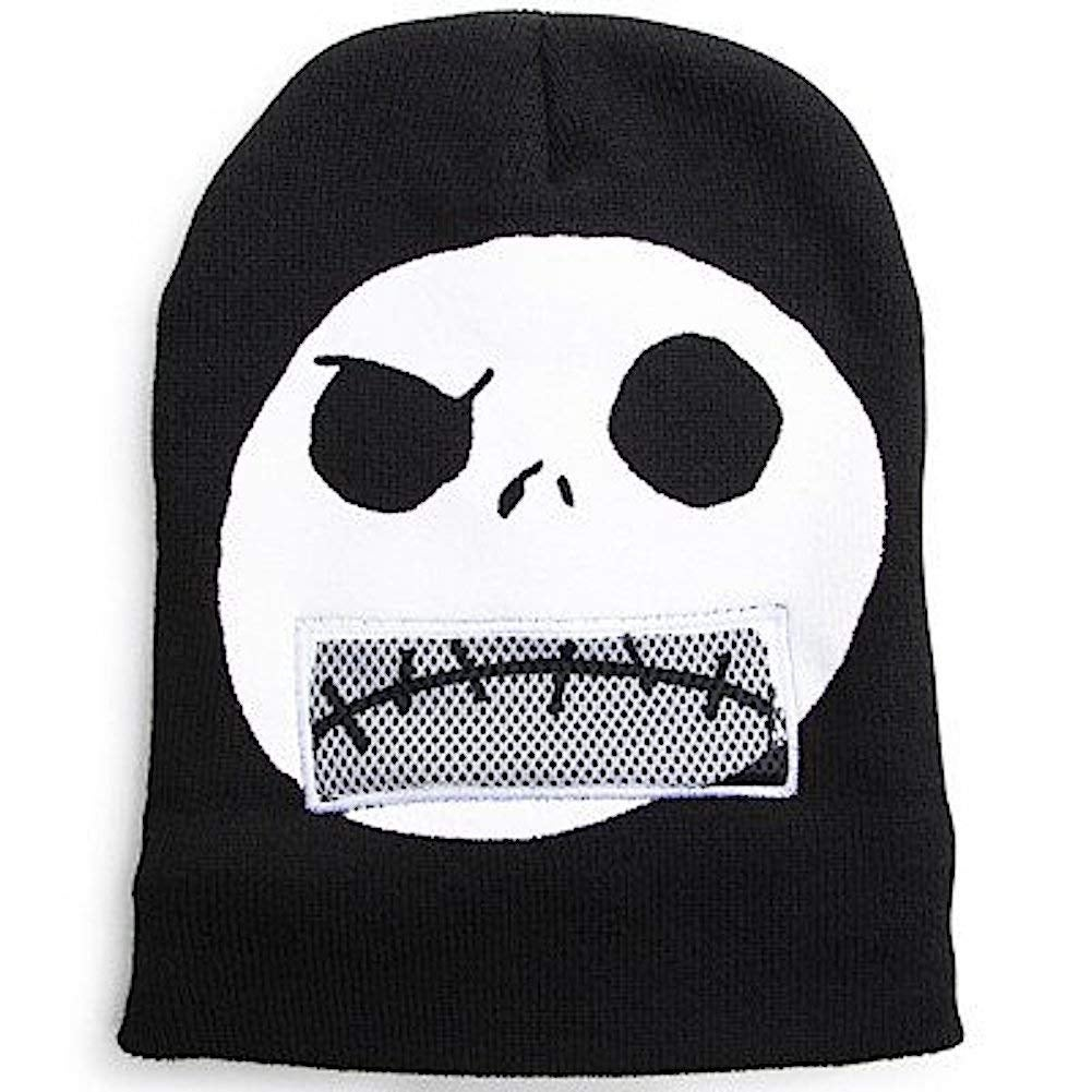 33a6fe50c75 Shop Nightmare Before Christmas Jack Skellington Flip Down Beanie - Free  Shipping On Orders Over  45 - Overstock - 24314042
