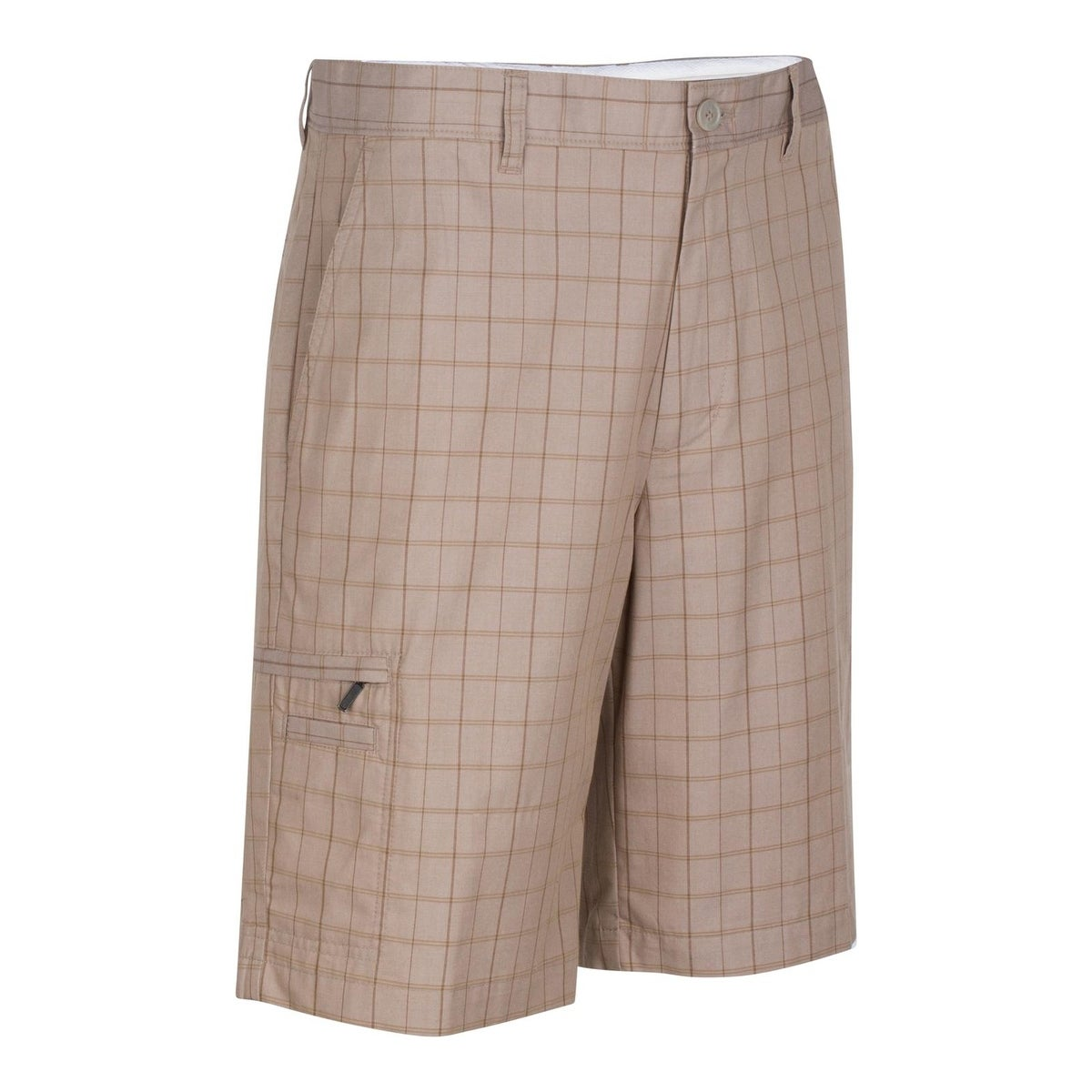53112349de Shop Greg Norman Mens Cargo Shorts Moisture Wicking Plaid - Free Shipping  On Orders Over $45 - Overstock - 16004618