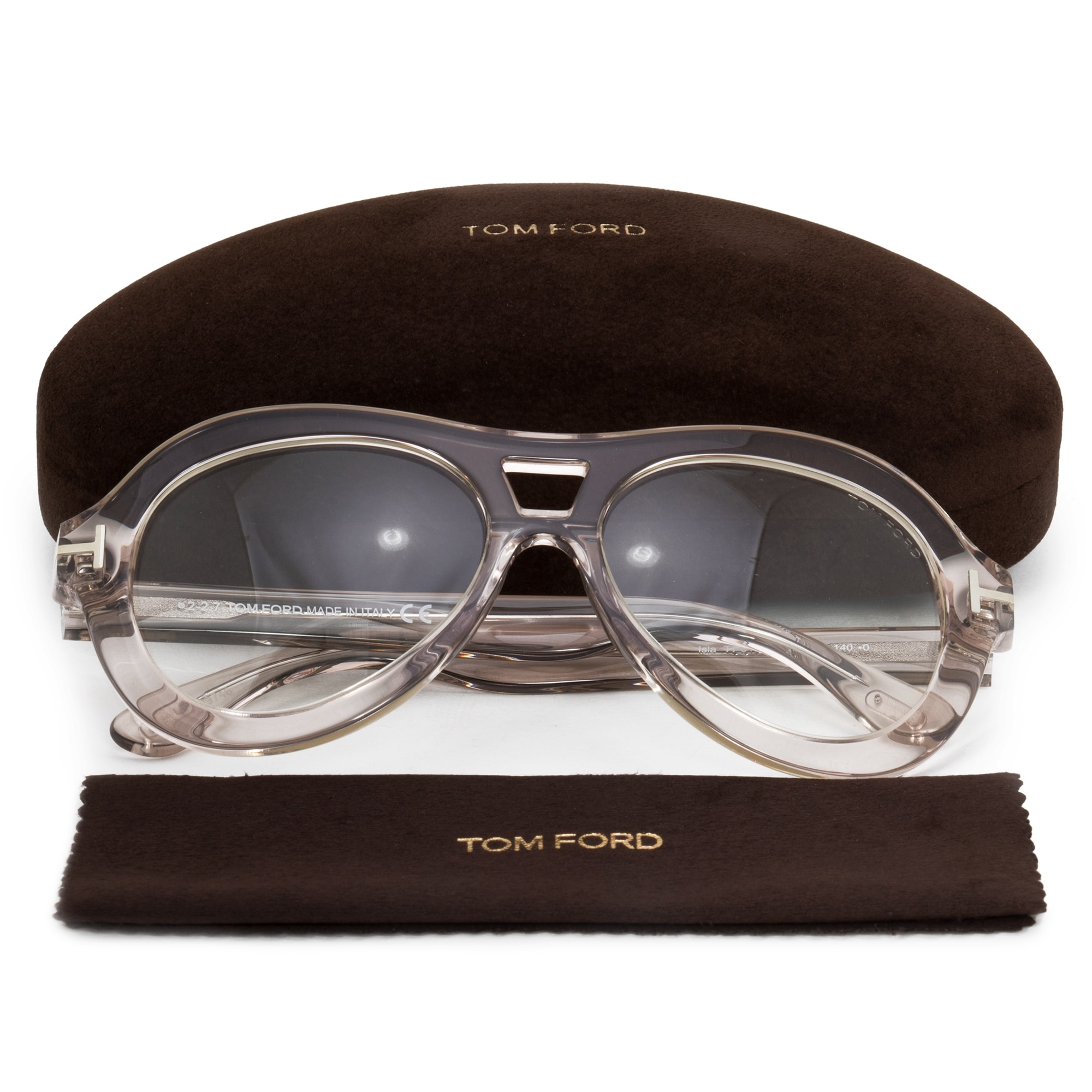 68a572be972 Shop Tom Ford Isla Round Sunglasses FT0514 074 56 - Free Shipping Today -  Overstock - 21408698
