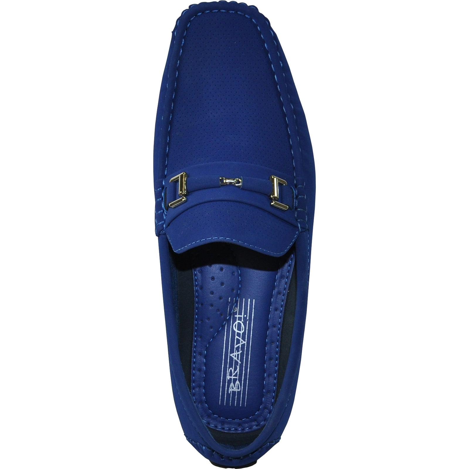 92d5a851510 Shop BRAVO Men Casual Shoe TODD-1 Driving Moccasin Royal Blue - Free  Shipping On Orders Over  45 - Overstock - 22843282