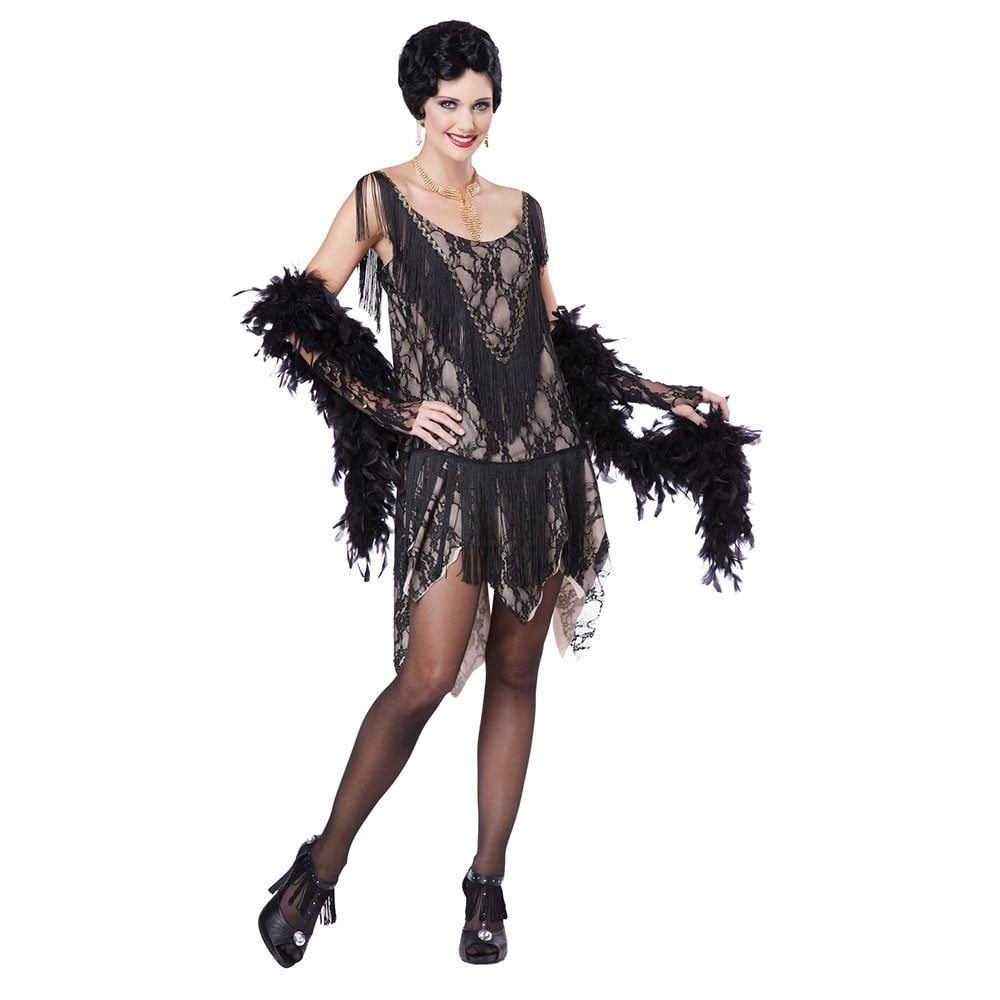 shop womens gatsby gal flapper halloween costume - free shipping on