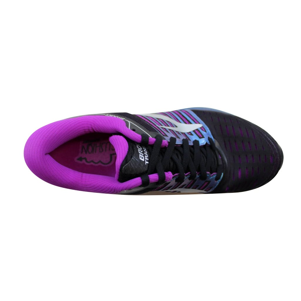 b8498c62588 Shop Brooks Women s Transcend 5 Black Purple-Multi 120263 1B 023 - Free  Shipping Today - Overstock - 21893007