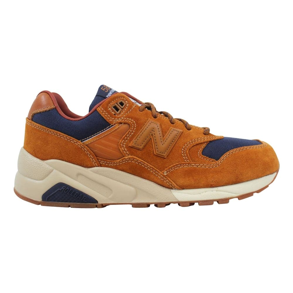 super popular 32d59 107a5 New Balance New Balance 580 Brown/Navy MT580SB Men's