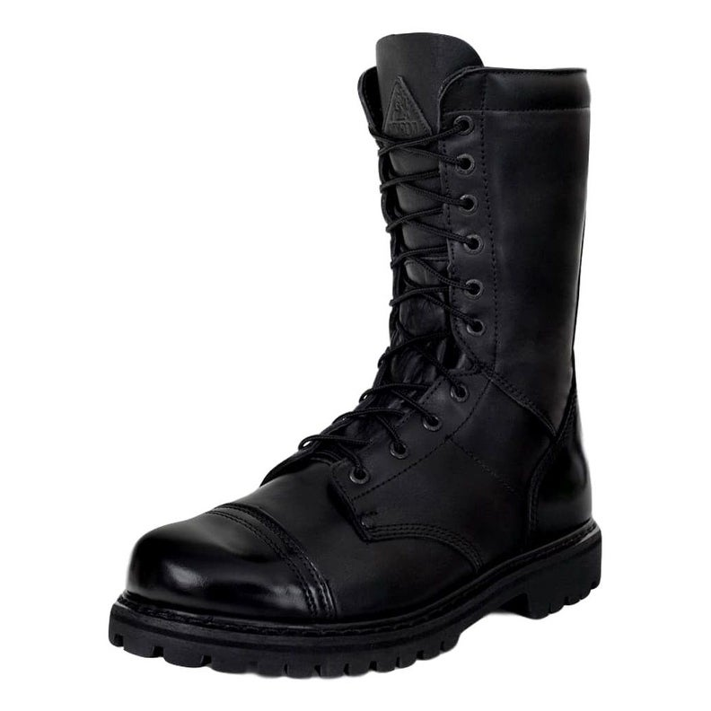 bd4bdfd63d4 Shop Rocky Outdoor Boots Womens Zipper Leather Tall Raven - Free Shipping  Today - Overstock.com - 19684330