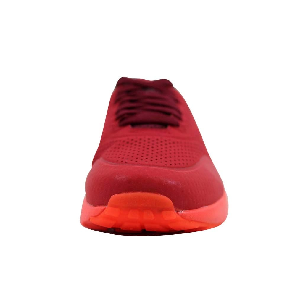 new arrival 4bd60 c4639 Shop Nike Men s Air Max 1 Ultra Moire Gym Red Team Red-University Red705297- 600 - On Sale - Free Shipping Today - Overstock - 22531407