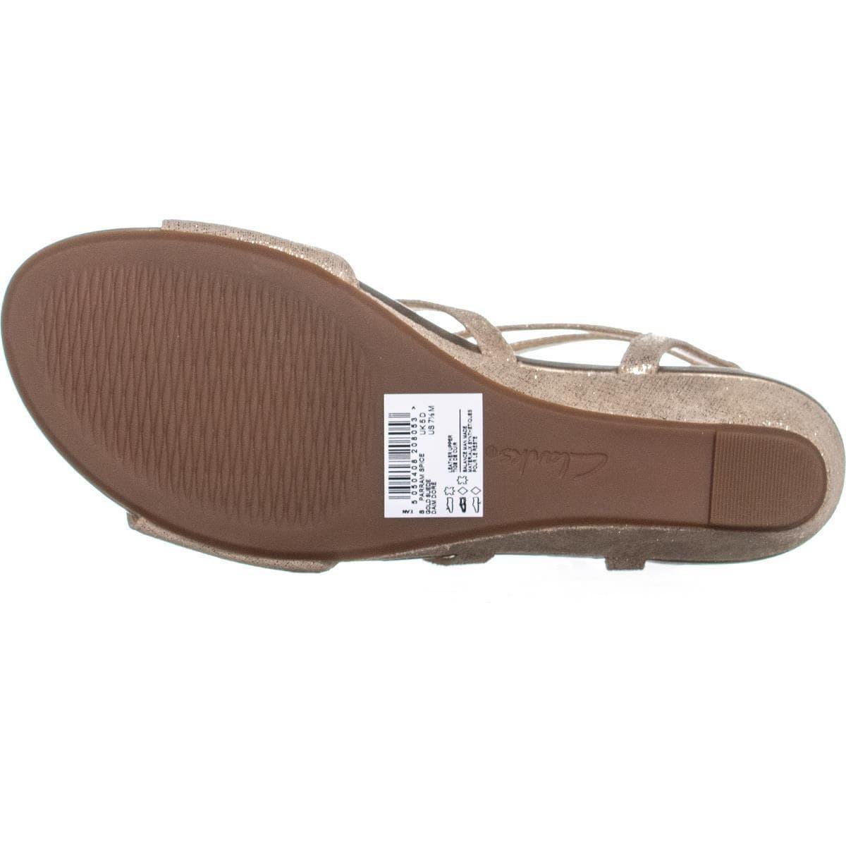 fbc9b9d7d Shop Clarks Parram Spice Gladiator Wedge Sandals