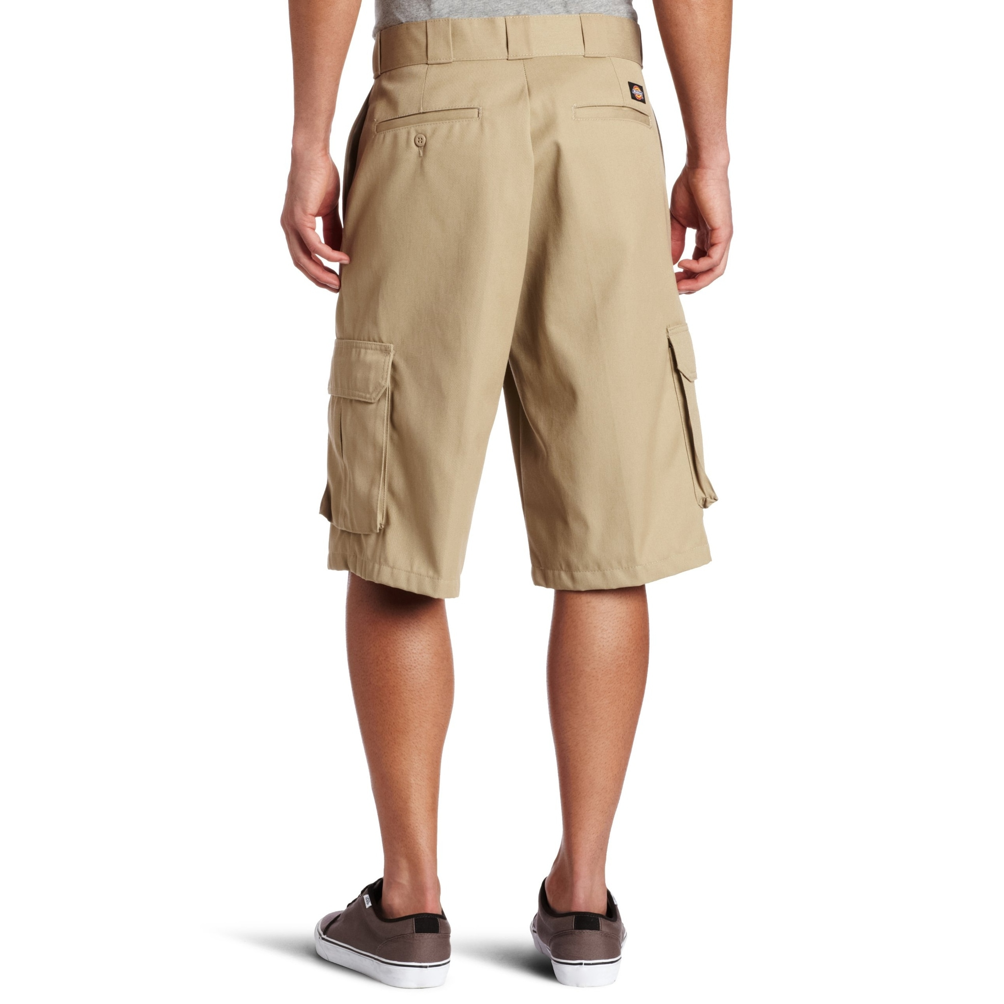b7526a3efc Shop Dickies Beige Mens Size 32 Loose-Fit Non Wrinkle Cargo Shorts - Free  Shipping On Orders Over $45 - Overstock - 27186908
