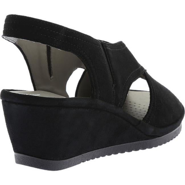 6cd3010d4766 Shop ara Women s Camilia 37146 Slingback Sandal Black Suede - On Sale -  Free Shipping Today - Overstock - 17121700