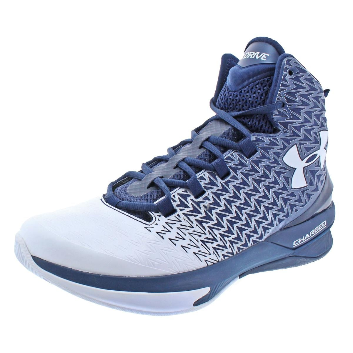 6c2e6e64bf66 ... sale shop under armour mens clutchfit drive 3 basketball shoes high top  charged free shipping today