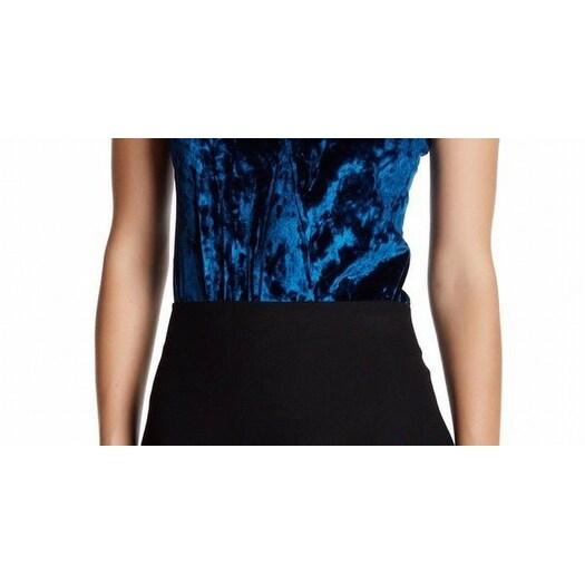 7da10dd638c6 Shop Socialite NEW Blue Velvet Women s Size Small S Tank Cami Bodysuit Top  - Free Shipping On Orders Over  45 - Overstock - 18357742